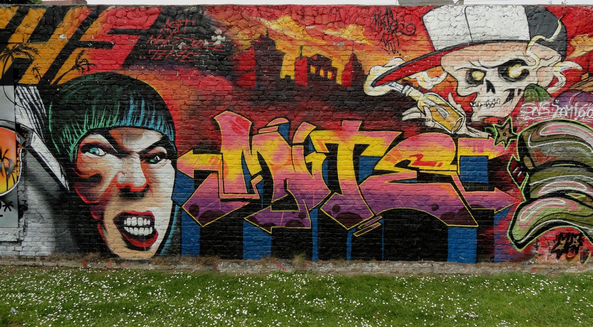 Album - Graffitis Belgique Tom 014