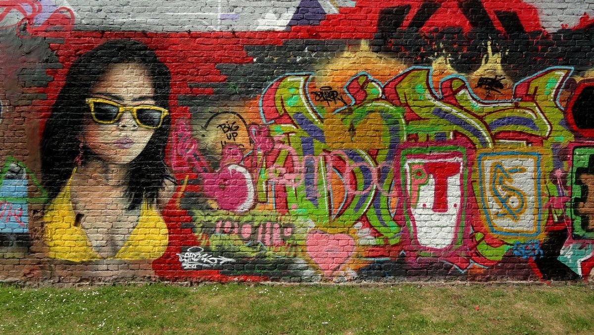 Street Art : Graffitis &amp&#x3B; Fresques Murales 9000 Gand