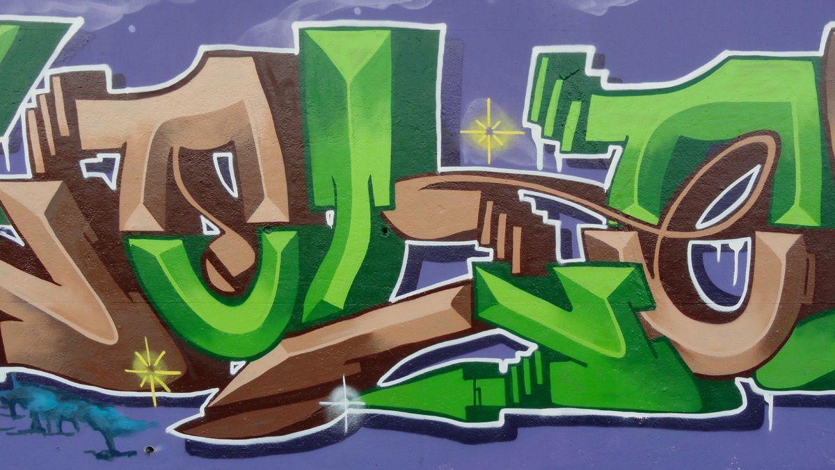 Street Art : Graffitis &amp&#x3B; Fresques Murales 2110 Wijnegem (belgique)