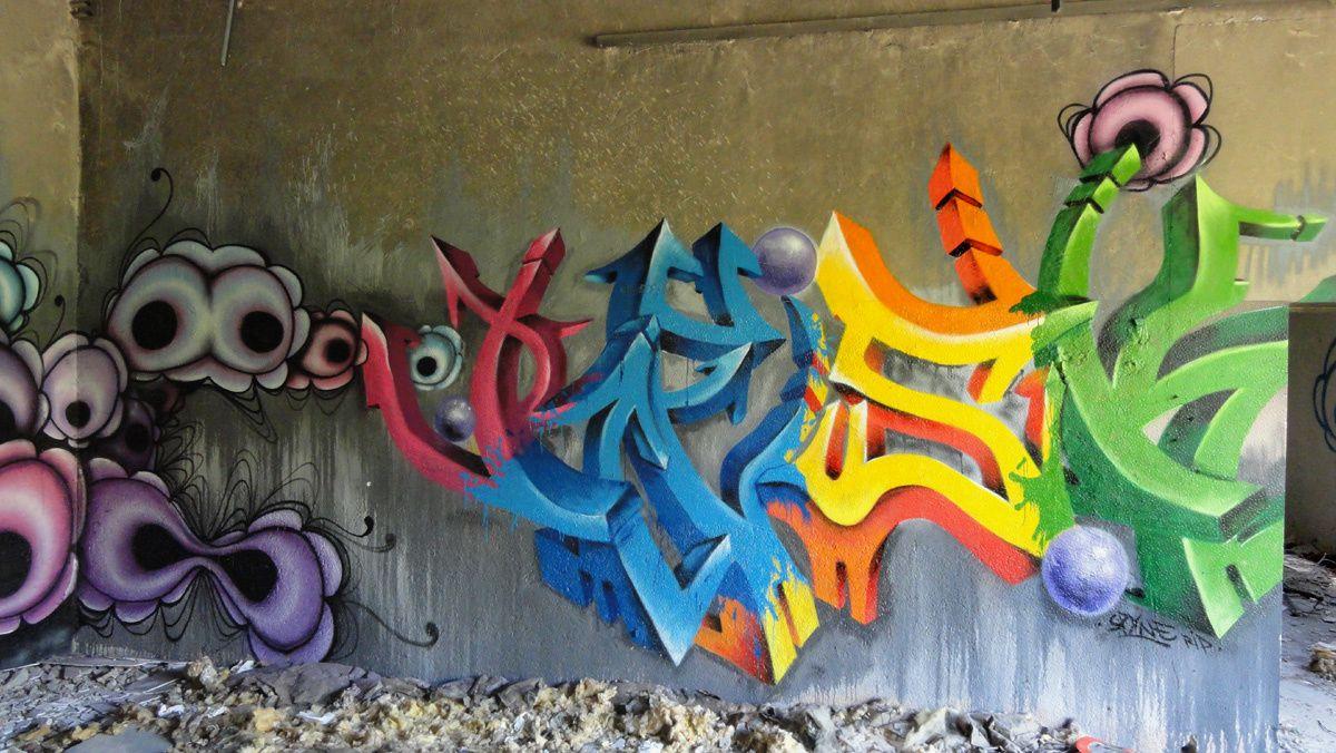 Street Art : Graffitis &amp&#x3B; Fresques Murales 28052 Chartres
