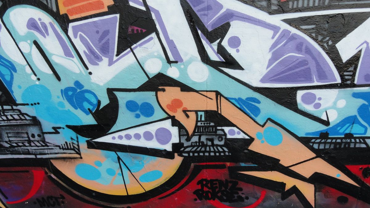 Album - Graffitis IVRY sur Seine Tom 028