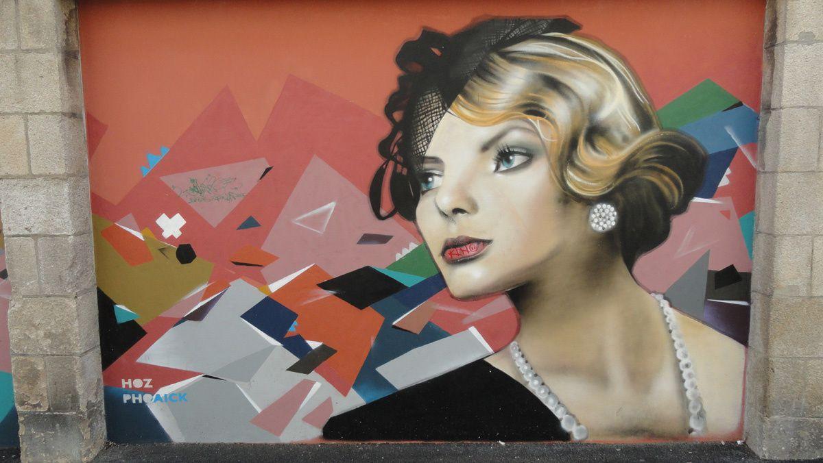 Street Art : Graffitis &amp&#x3B; Fresques Murales 29232 Quimper