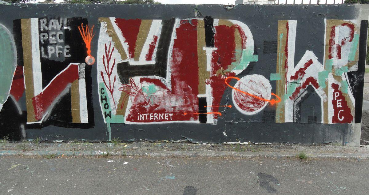 Street Art : Graffitis &amp&#x3B; Fresques Murales 44109 Nantes
