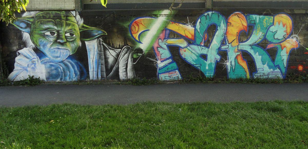 Street Art : Graffitis &amp&#x3B; Fresques Murales 29019 Brest
