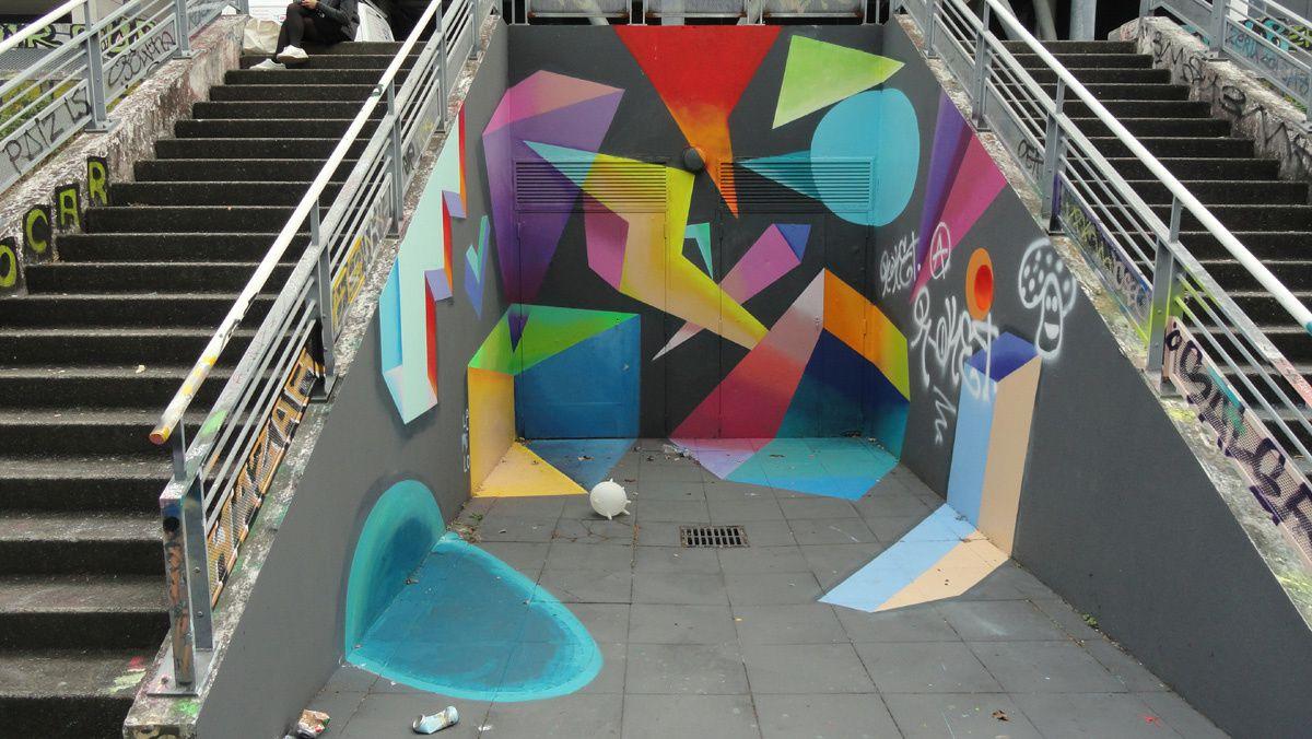 Street Art : Graffitis &amp&#x3B; Fresques Murales 49007 Angers