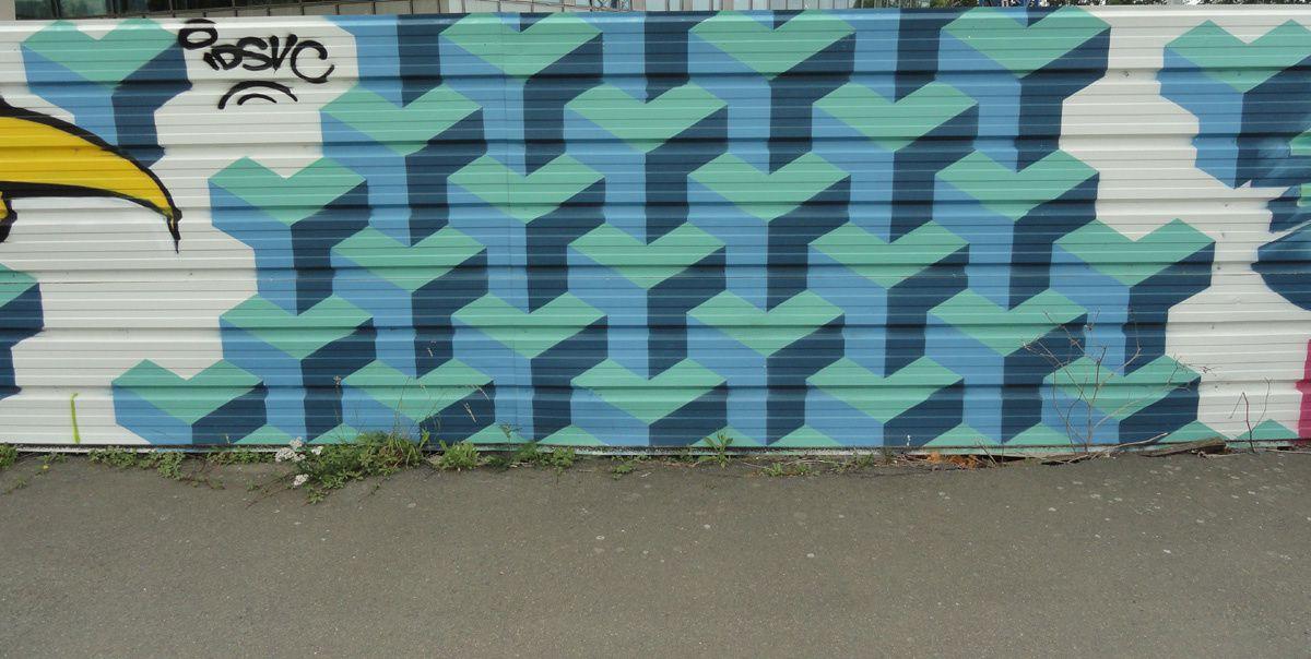 Street Art : Graffitis &amp&#x3B; Fresques Murales 72181 Le Mans