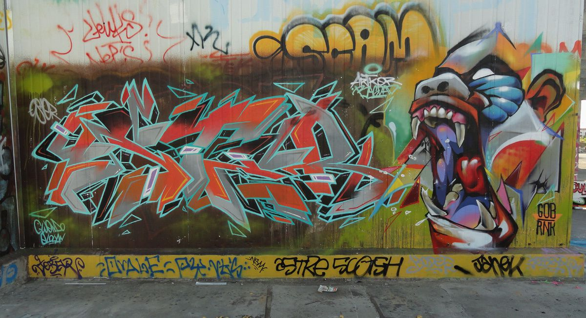 Street Art : Graffitis &amp&#x3B; Fresques Murales 35055 Chantepie