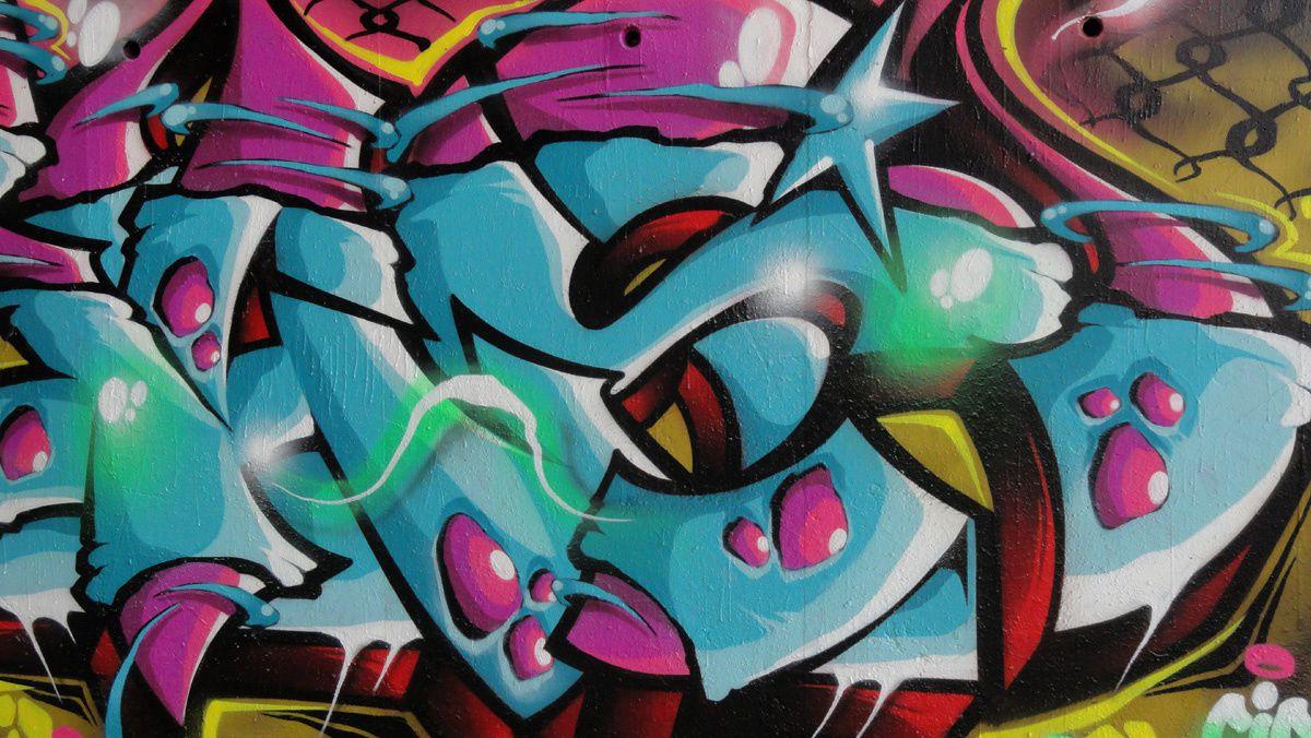 Street Art : Graffitis &amp&#x3B; Fresques Murales 93053 Noisy le sec