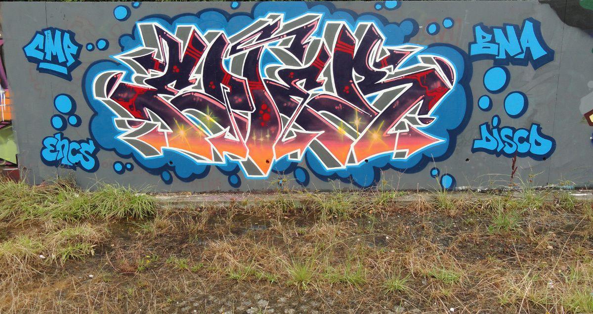 Street Art : Graffitis &amp&#x3B; Fresques Murales 33075 Bruges
