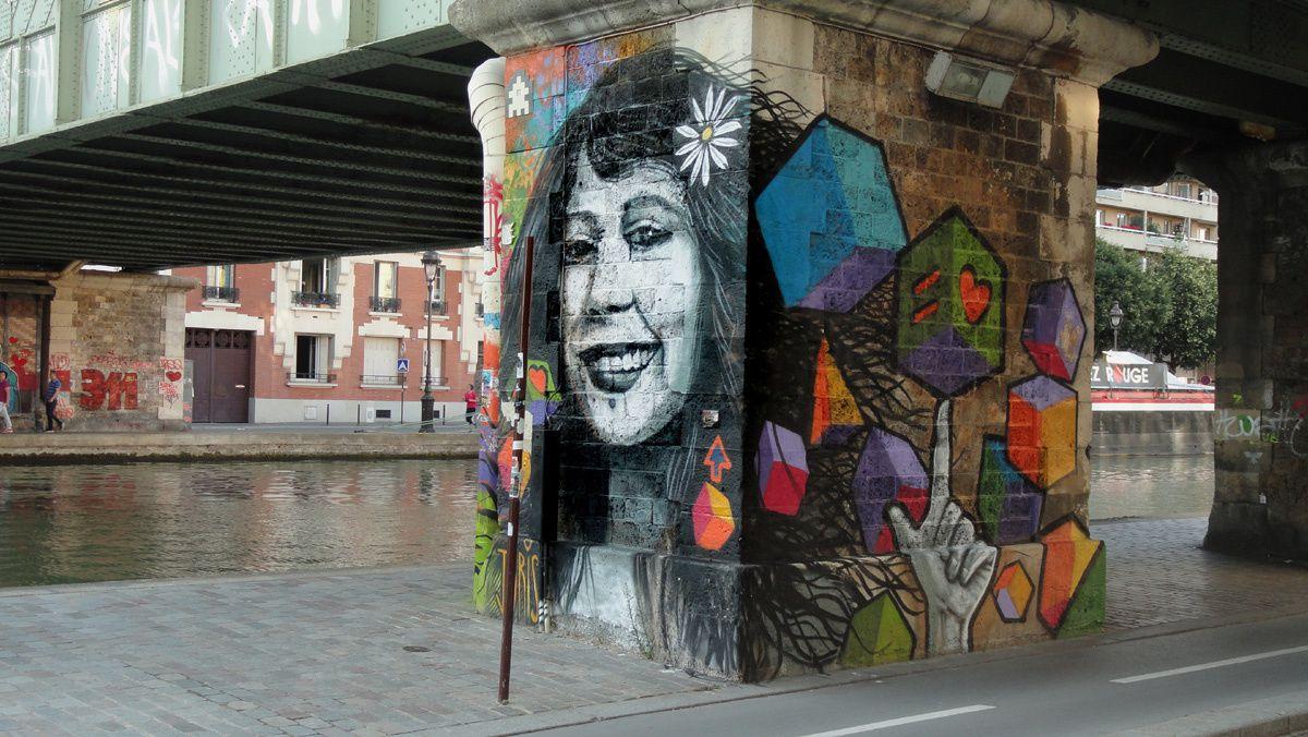 Street Art : Graffitis &amp&#x3B; Fresques Murales 75019 Paris
