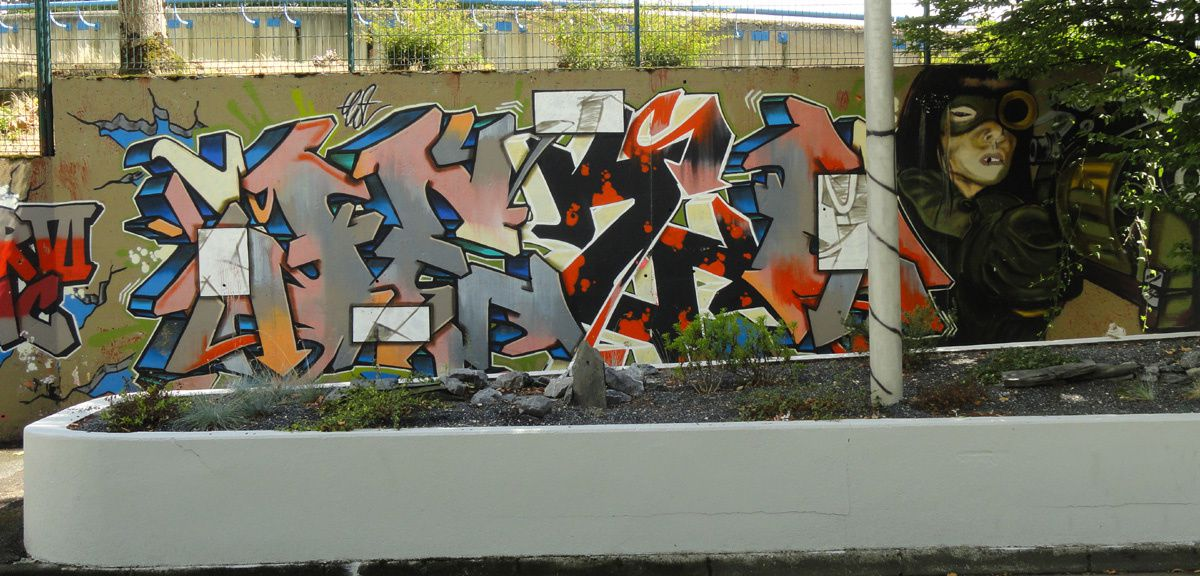 Street Art : Graffitis &amp&#x3B; Fresques Murales 65440 Tarbes