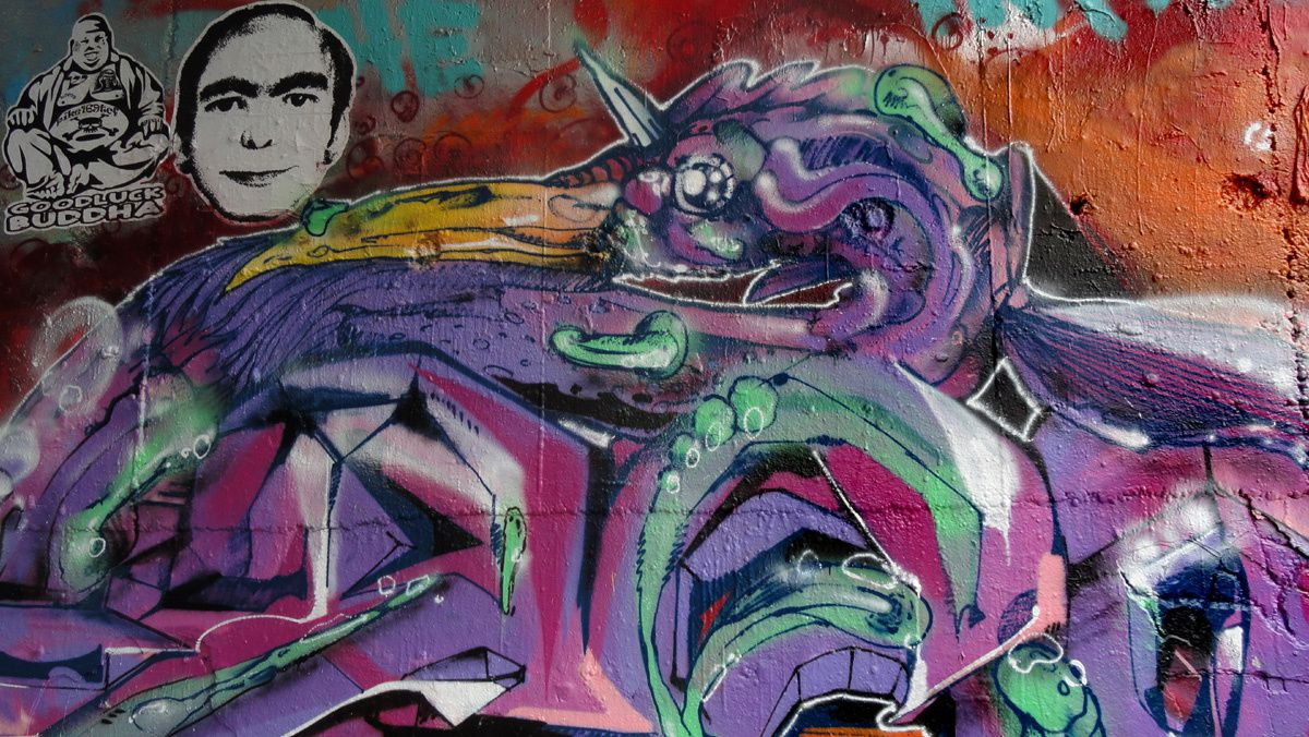 Street Art : Graffitis &amp&#x3B; Fresques Murales 31100 Toulouse