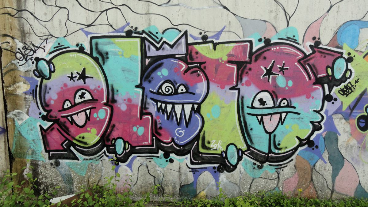 Street Art : Graffitis &amp&#x3B; Fresques Murales 17415 Saintes