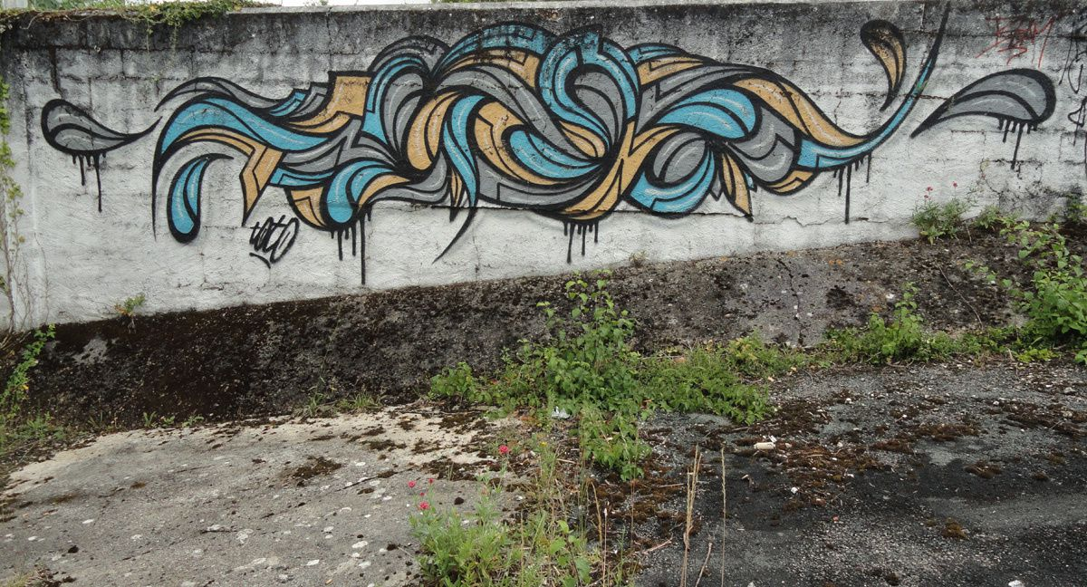 Street Art : Graffitis &amp&#x3B; Fresques Murales 17415 Saintes