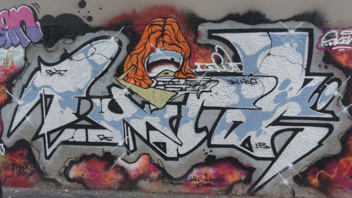 Street Art : graffitis &amp&#x3B; Fresques Murales 75011 Paris