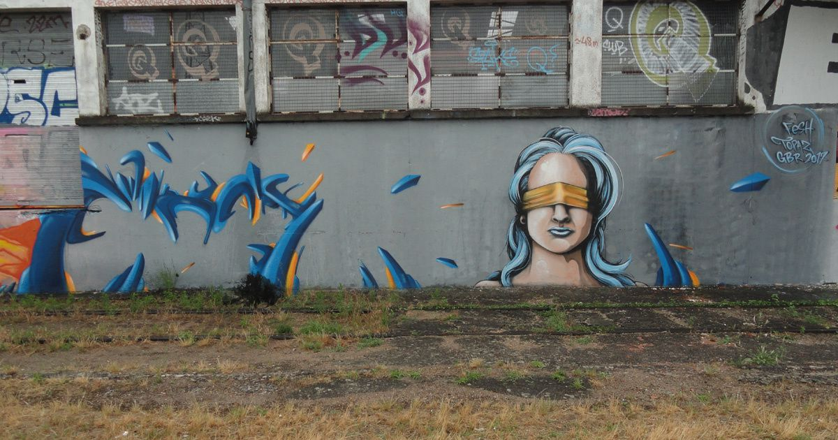 Street Art : Graffitis &amp&#x3B; Fresques Murales 37233 Saint Pierre des Corps