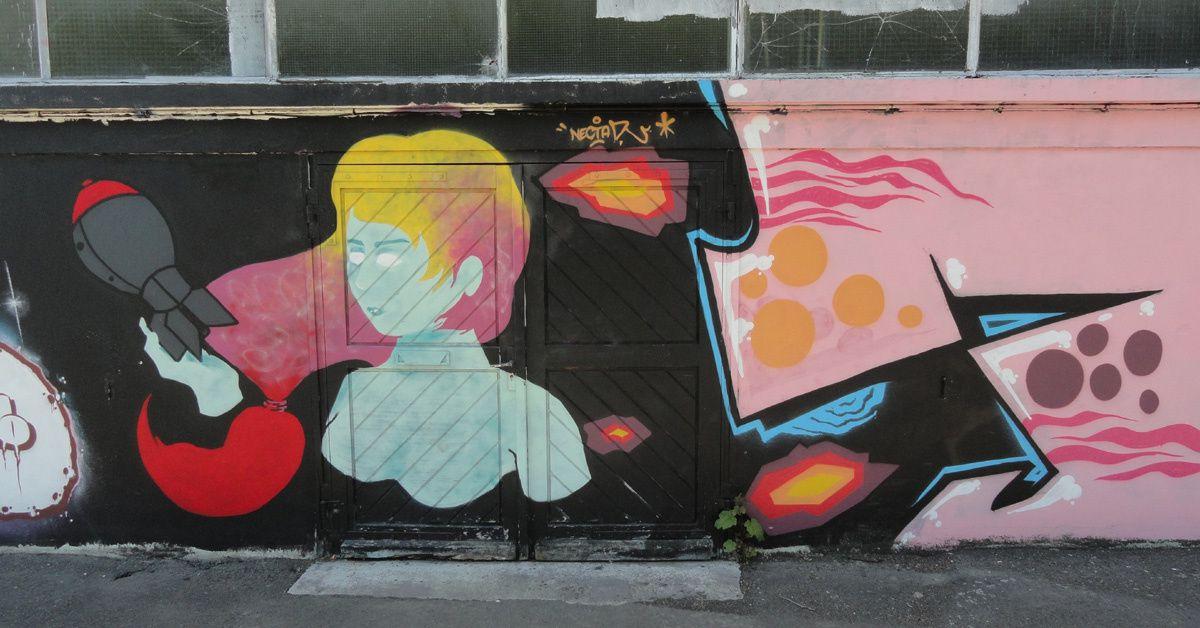 Street Art : Graffitis &amp&#x3B; Fresques Murales 22278 Saint Brieuc