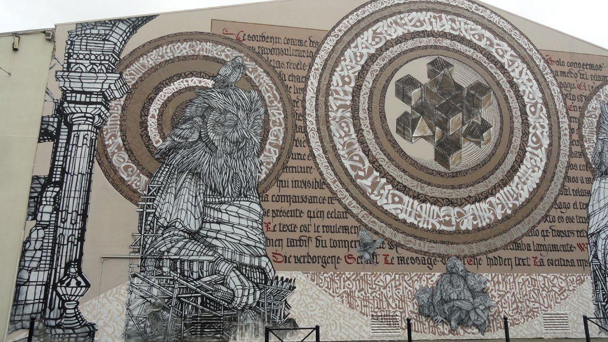 Street Art : Graffitis &amp&#x3B; Fresques Murales 33100 Bordeaux