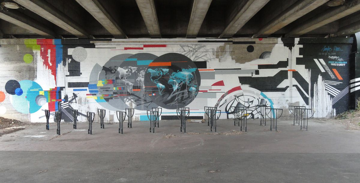 Street Art : Graffitis &amp&#x3B; Fresques Murales 31400 Toulouse