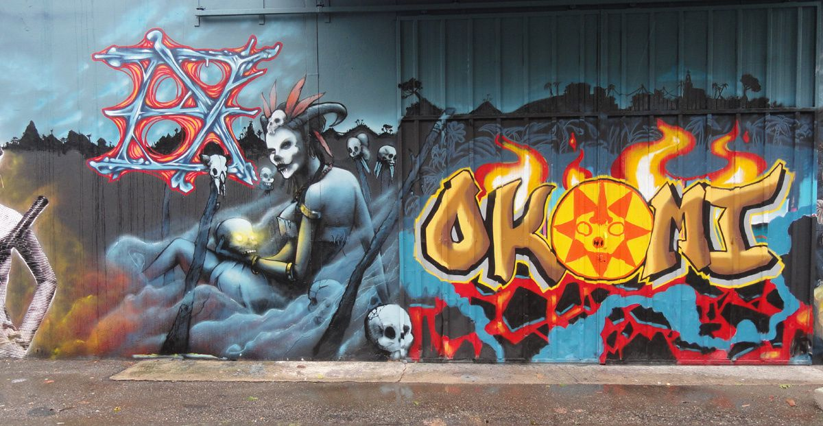 Street Art : Graffitis &amp&#x3B; Fresques Murales 31200 Toulouse