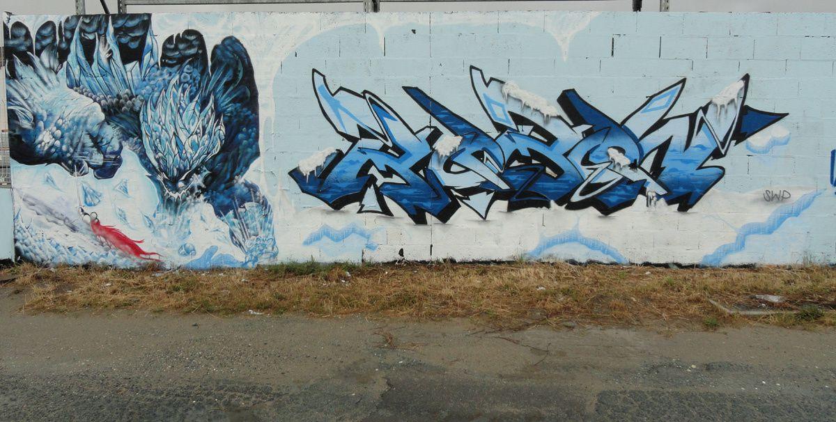 Street Art : graffitis &amp&#x3B; Fresques Murales 17028 Aytre