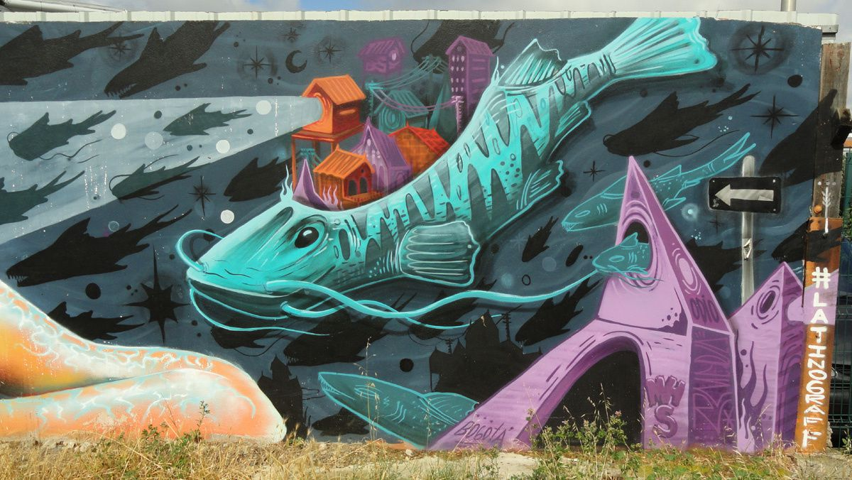Street Art : Graffitis &amp&#x3B; Fresques Murales 31300 Toulouse