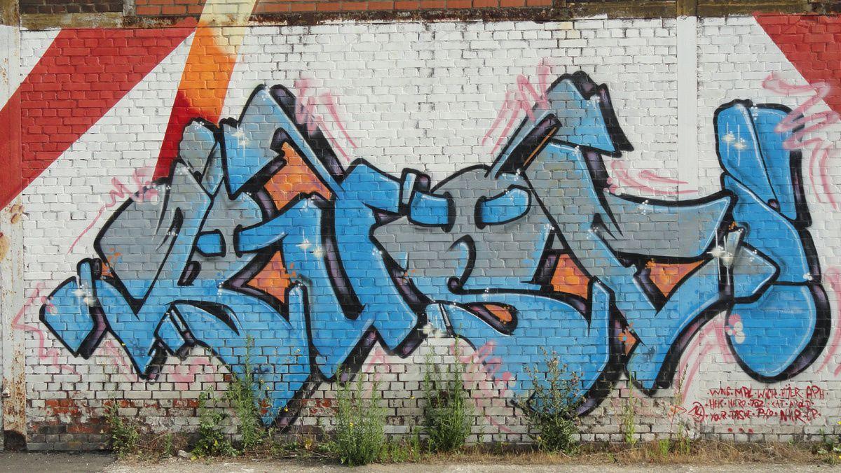 Street Art : Graffitis &amp&#x3B; Fresques Murales 6001 Charleroi (Belgique)