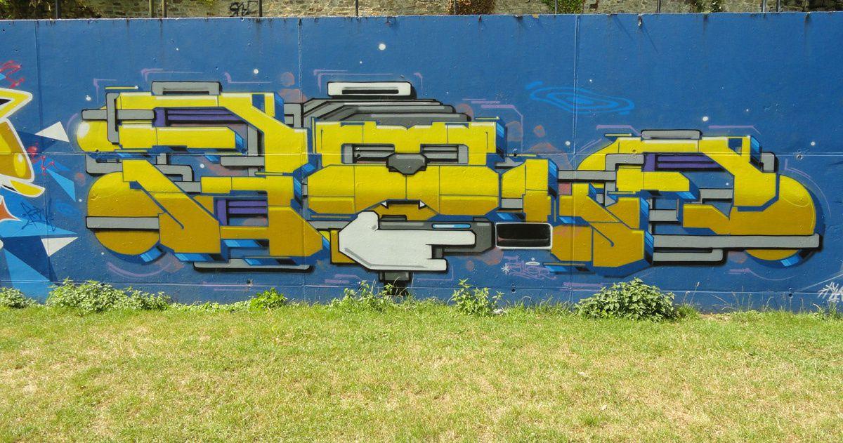 Street Art : Graffitis &amp&#x3B; Fresques Murales 4680 Oupeye (Belgique)