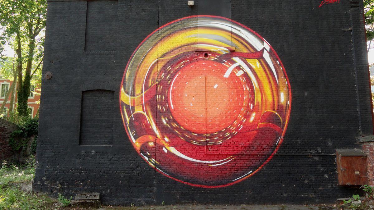 Street Art : Graffitis &amp&#x3B; Fresques Murales 41000 Seraing (Belgique)