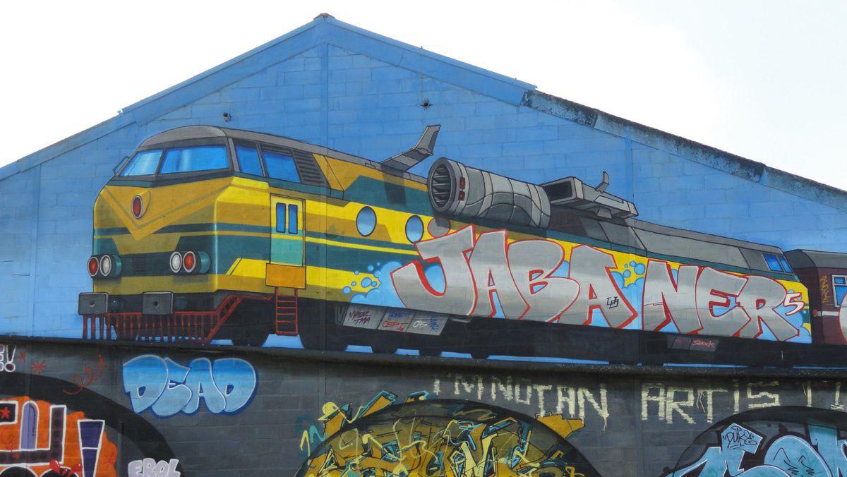 Street Art : Graffitis &amp&#x3B; Fresques Murales 4000 Liège (Belgique)