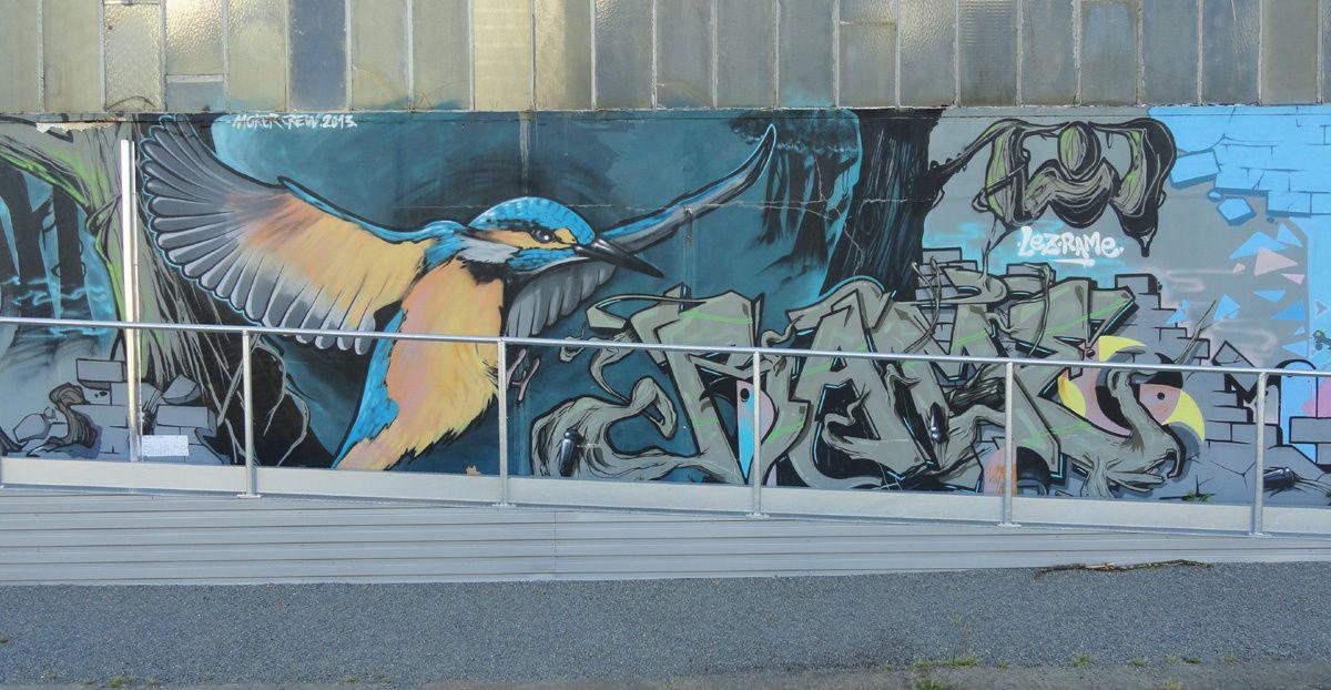 Street Art : Graffitis &amp&#x3B; Fresques Murales 35236 Redon