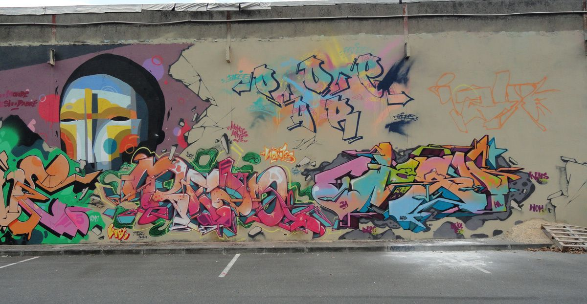 Street Art :Graffitis &amp&#x3B; Fresques Murales 31200 Toulouse