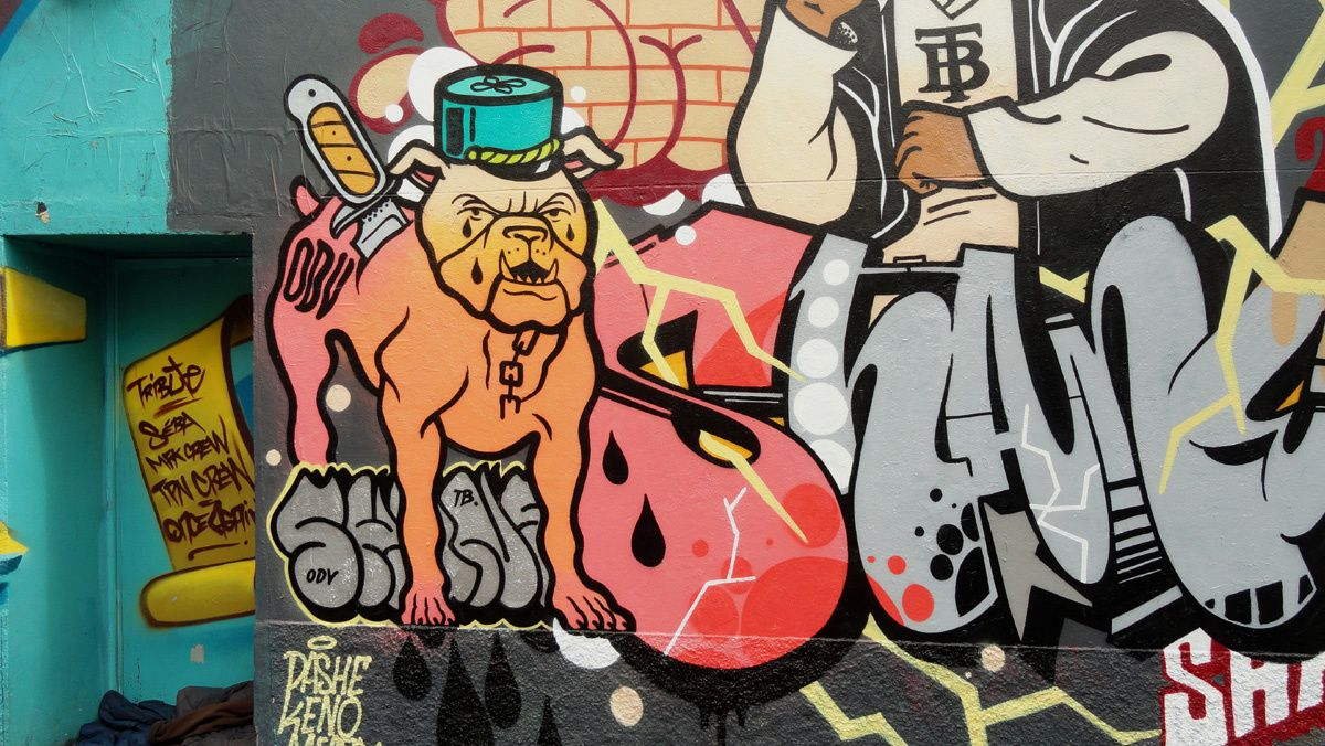 Street Art :Graffitis &amp&#x3B; Fresques Murales 75011 Paris