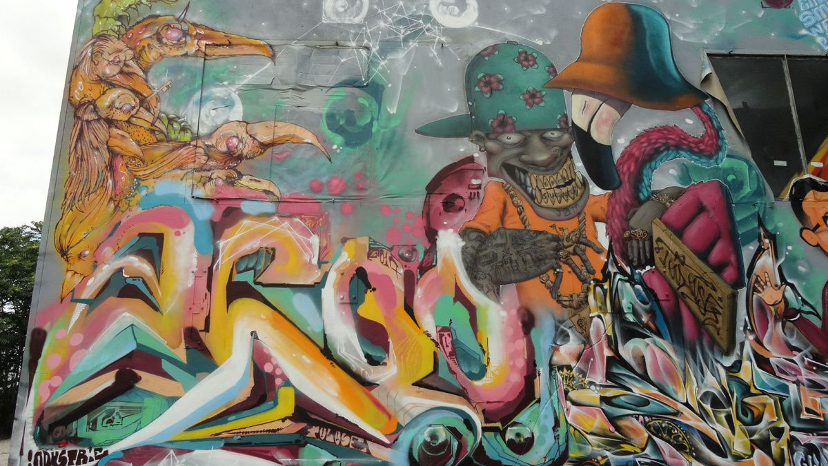 Street Art :Graffitis &amp&#x3B; Fresques Murales 31400 Toulouse