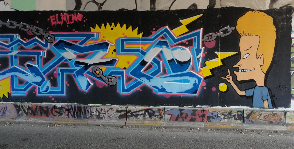 Street Art : Graffitis &amp&#x3B; Fresques Murales 6100 Charleroi (Belgique)