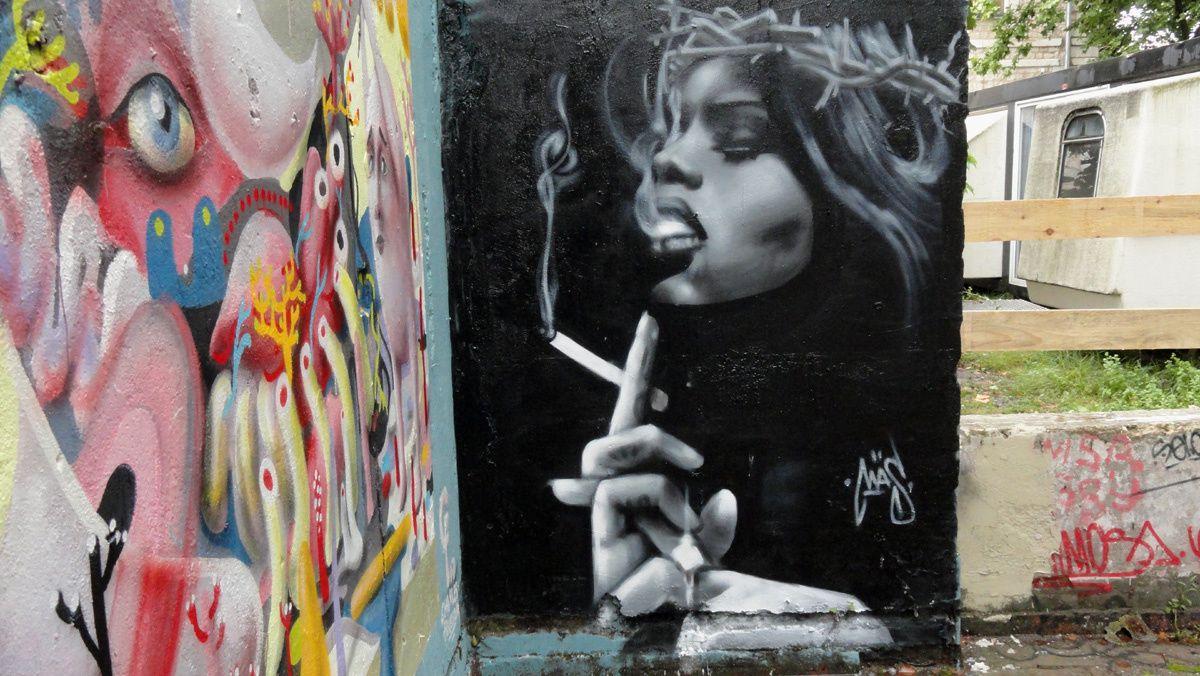 Album - Graffitis Caserne Niel Bordeaux Tom 009