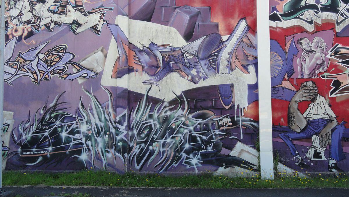 Street Art : Graffitis &amp&#x3B; Fresques Murales 29103 Landerneau