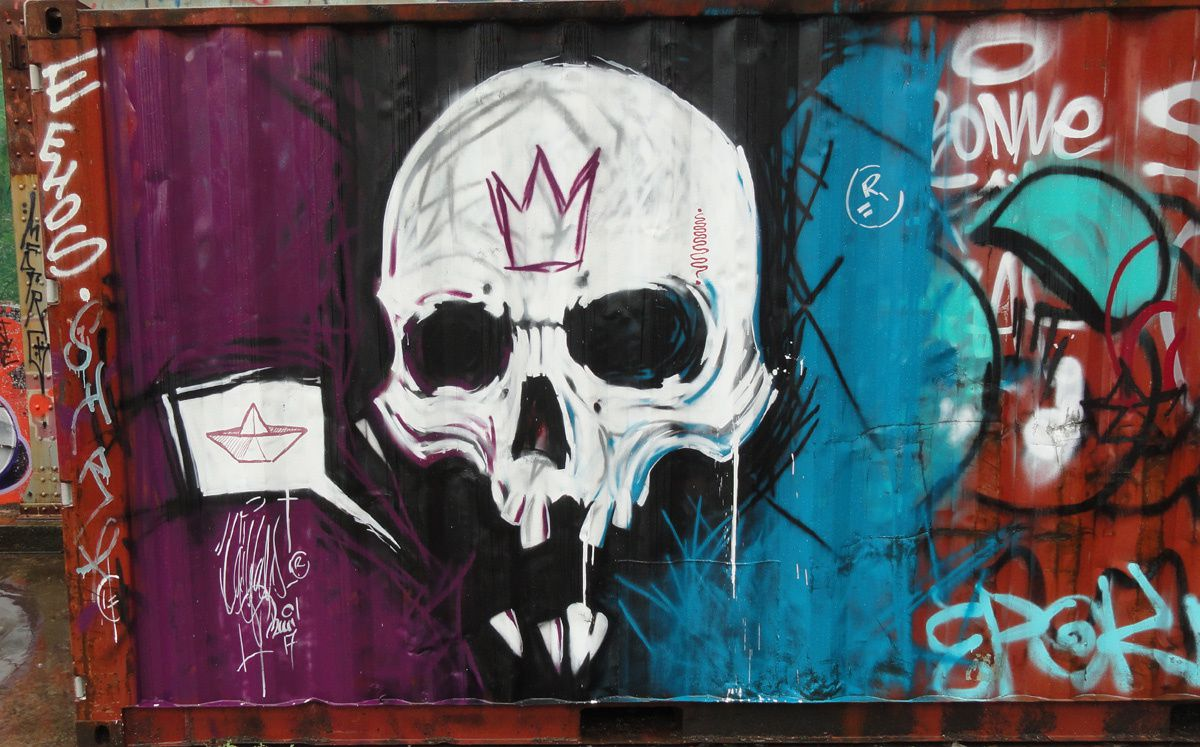 Street Art : Graffitis &amp&#x3B; Fresques Murales 33100 Bordeaux