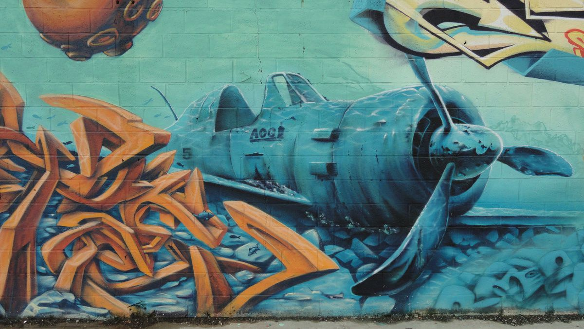 Street Art : Graffitis &amp&#x3B; Fresques Murales 14337 Mondeville