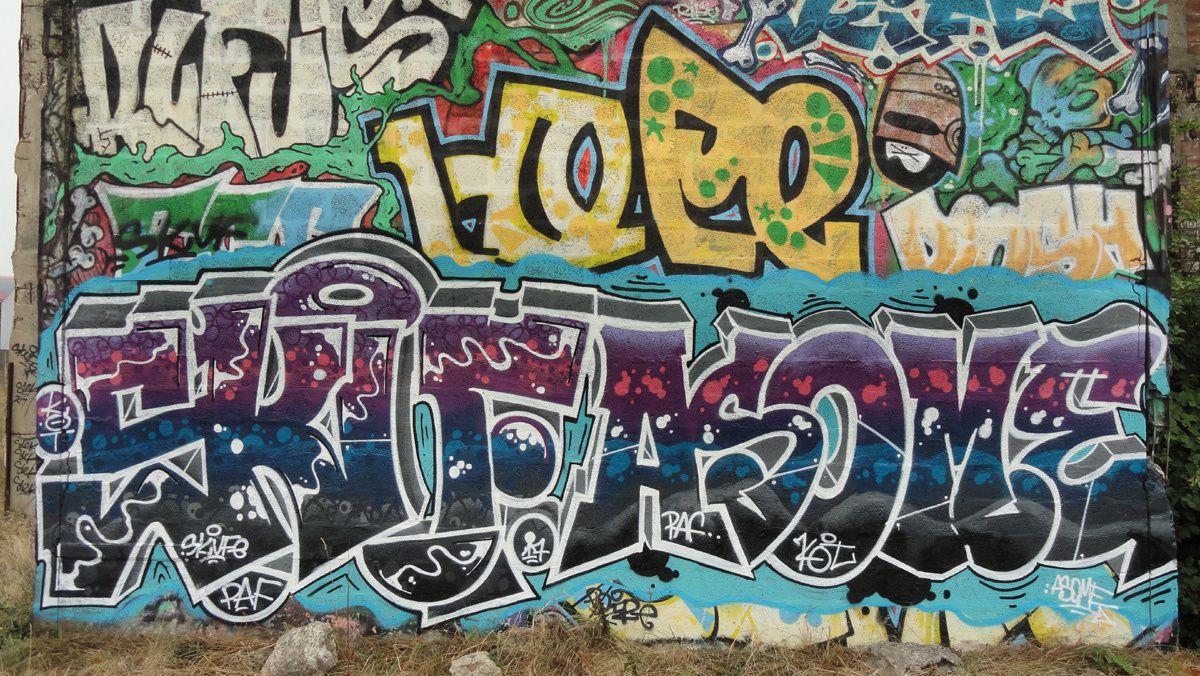 Street Art : Graffitis &amp&#x3B; Fresques Murales 14167 Colombelles