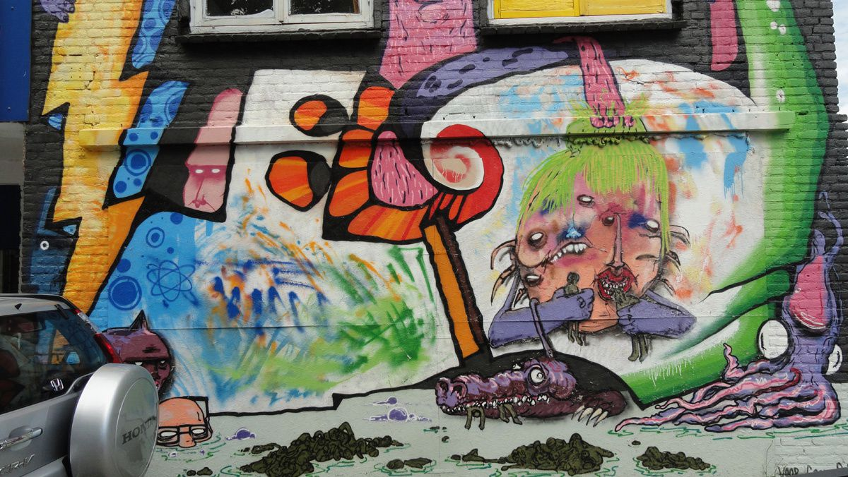 Street Art : Graffitis &amp&#x3B; Fresques Murales 5213 St.Hertogenbosch (Pays Bas)