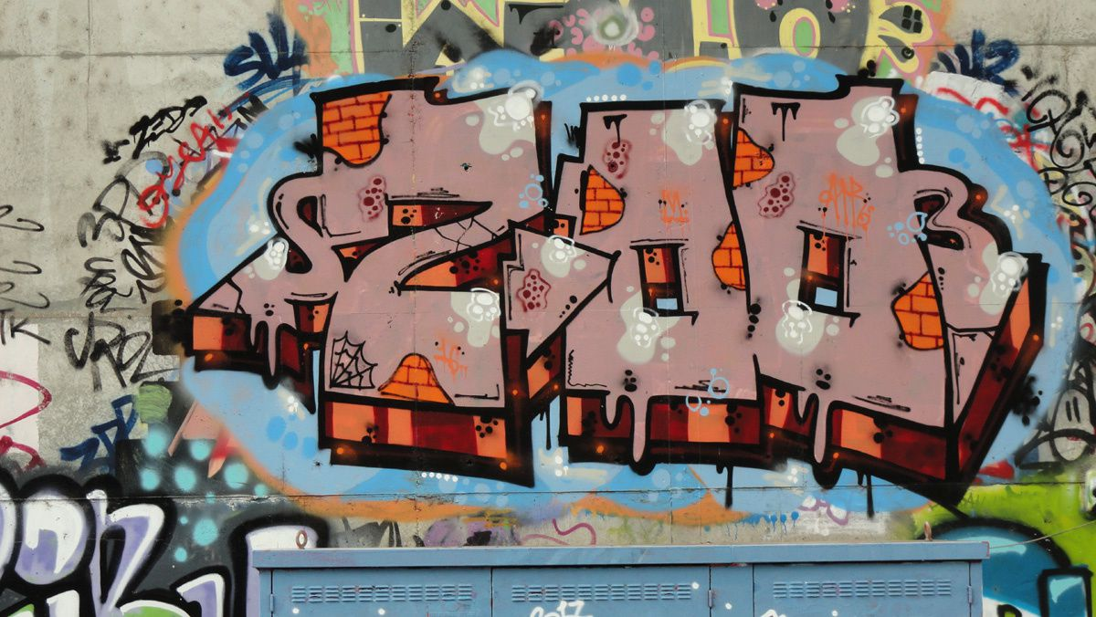 Street Art : Graffitis &amp&#x3B; Fresques Murales 86194 Poitiers