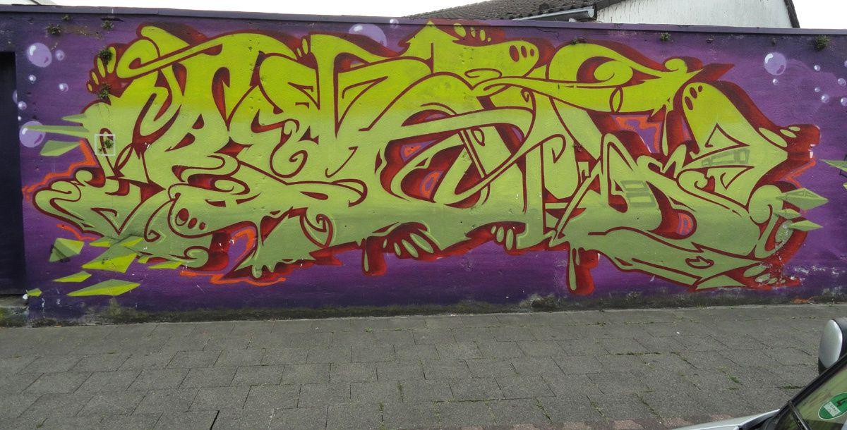 Street Art : Graffitis &amp&#x3B; Fresques Murales 40227 Dusseldorf