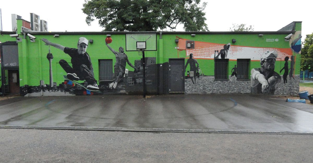 Street Art : Graffitis &amp&#x3B; Fresques Murales 40235 Dusseldorf