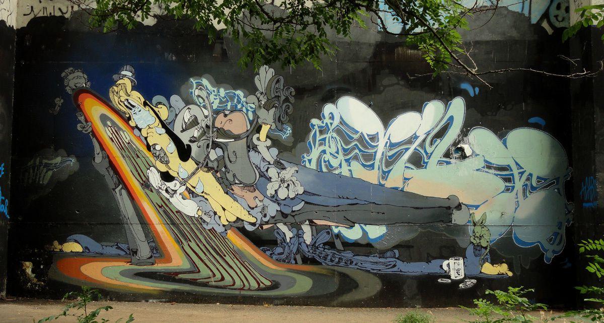 Album - Graffitis Dept 86 Tom 001