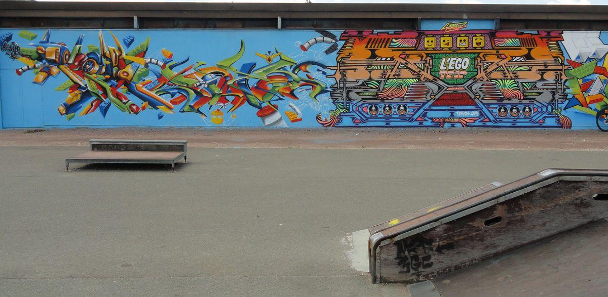 Street Art : Graffitis &amp&#x3B; Fresques Murales 33433 Saint Loubes