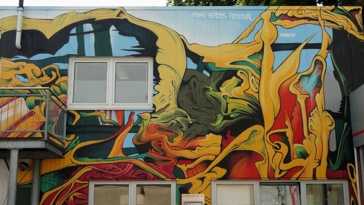 Street Art : Graffitis &amp&#x3B; Fresques Murales 58089 Hagen (Germany)