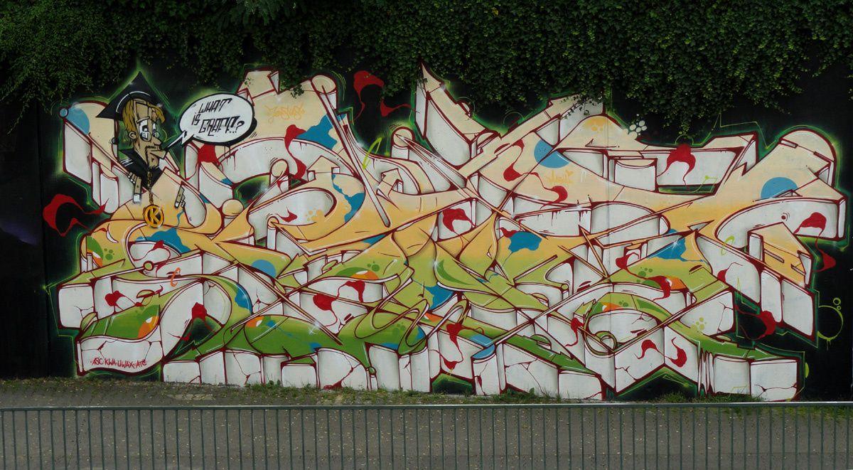 Street Art : Graffitis &amp&#x3B; Fresques Murales 40229 Dusseldorf (Germany)