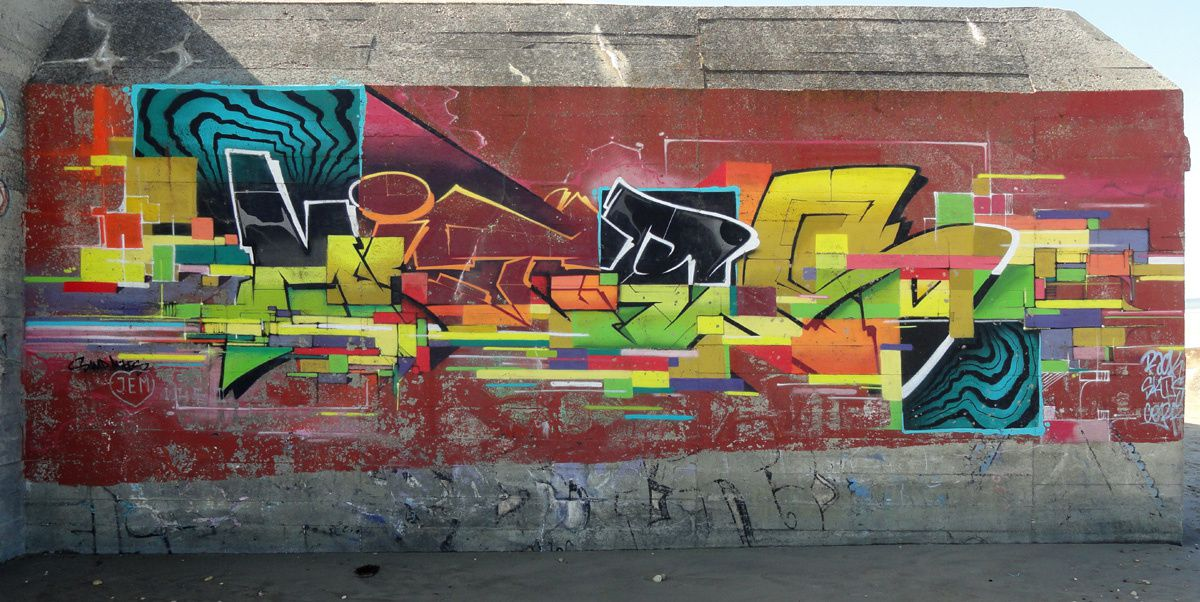 Street Art : Graffitis &amp&#x3B; Fresques Murales 33540 Vendays Montalivet