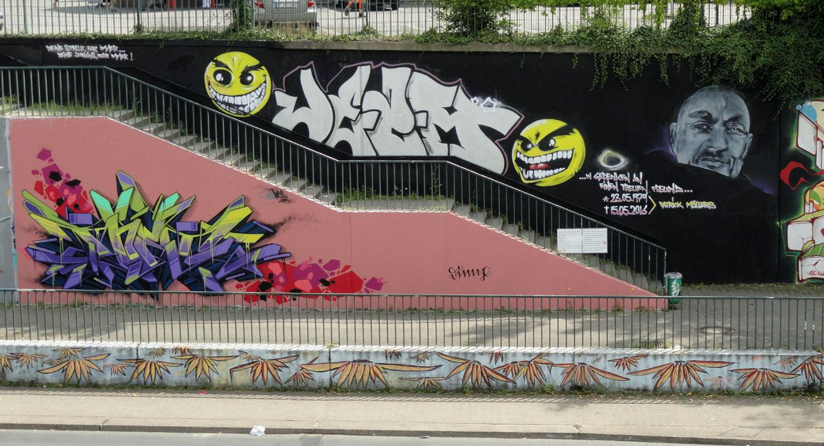 Street Art : Graffitis &amp&#x3B; Fresques Murales 40229 Dusseldorf (Germany)